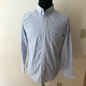 Goodfellow blue, white stripe shirt - mens M - NWT